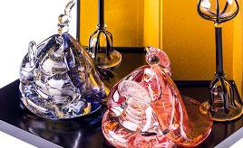 ガラスのおひな様観賞や盆梅展、鴨すきを楽しむ早春のドライブ 滋賀県長浜市
