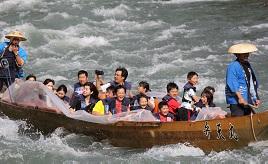 スリル満点!豪快な天竜川の舟下りを楽しむドライブ 長野県飯田市