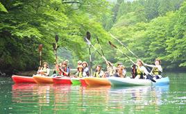 ダム湖でSUPやカヌー、火まつりで開運招福祈願!初夏のドライブへ出発 栃木県那須塩原市