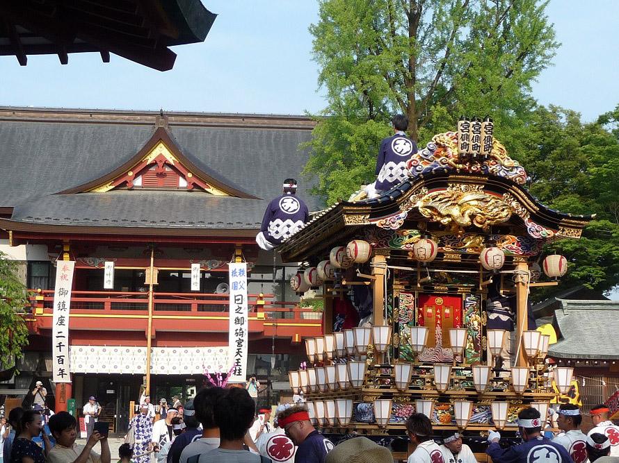 京都・祇園祭の流れをくむとされ、秩父では「お祇園」とも呼ばれている。