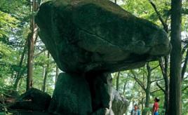 これはミステリー!見上げるほど大きい謎の巨石・続石へドライブ 岩手県遠野市