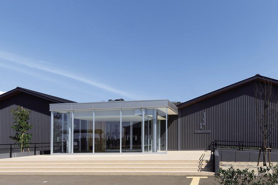 佐渡金銀山の概要や見学コースなどをわかりやすく案内する施設として開館。