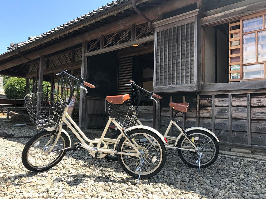 自転車を借りてサイクリングも体験したい。サイクリングマップももらえるので、サイクリングコースの参考にしよう