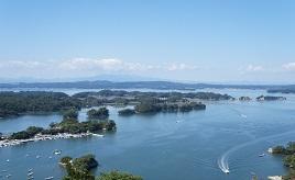 松島湾に浮かぶ島々を一望!四大観(しだいかん)のひとつ、大高森へドライブ 宮城県東松島市