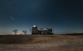 冬の星空を満喫できる大パノラマ!宿泊棟併設の天文台へドライブ 岡山県吉備中央町