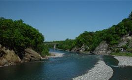 砂金掘りができる清流・歴舟川とハマナス咲く北の原生花園へドライブ 北海道大樹町