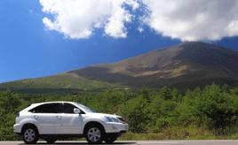 チェリーパークラインを走り、浅間山を一周する爽快ドライブルート