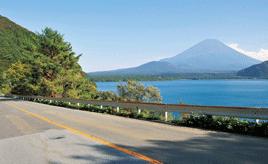 富士五湖の河口湖から西湖を巡る 富士山周遊おすすめドライブルート