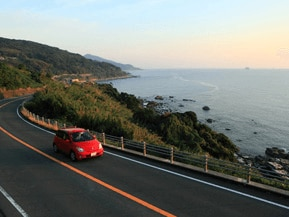 絶景ドライブルート 夕景が美しいシーサイドロード 長崎県長崎市