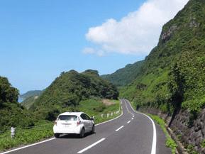 絶景ドライブルート 峠を越えて隠れキリシタンの島に向かう 長崎県平戸市