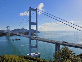 絶景ドライブルート 瀬戸内海に浮かぶ島々を結ぶビューロード 愛媛県今治市