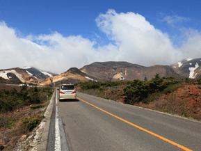 絶景ドライブルート 蔵王連峰を横断する東北有数の山岳道路 宮城県蔵王町