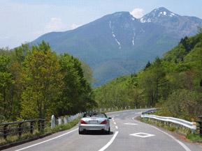 絶景ドライブルート 秋元湖から桧原湖に抜ける林間ルート 福島県猪苗代町