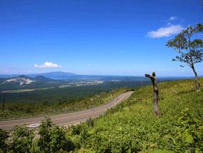 絶景ドライブルート 日本最大の屈斜路カルデラを見渡せる道 北海道弟子屈町