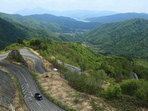 絶景ドライブルート 米沢と裏磐梯を結ぶ峠越え県道 山形県米沢市