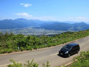 絶景ドライブルート 魚沼丘陵の尾根を走るスカイライン 新潟県十日町市