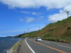 絶景ドライブルート 日本海沿いをひたすら走る快適ロード 北海道苫前町