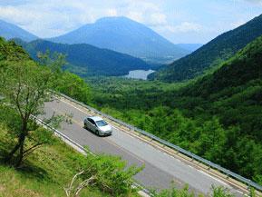 絶景ドライブルート 関東屈指の高所ドライブロングルート 栃木県日光市