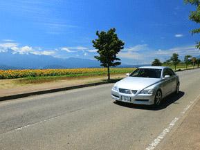 絶景ドライブルート 日照時間日本一の山ビューロード 山梨県北杜市