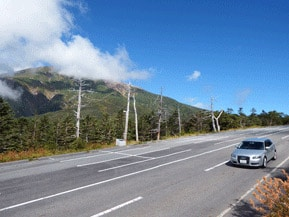 絶景ドライブルート 標高2000mを超える雲上の絶景山岳道路 長野県王滝村