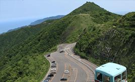 絶景ドライブルート 山頂からは日本海や越後平野を一望 新潟県弥彦村