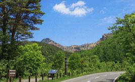 絶景ドライブルート 桧原湖畔と磐梯高原を結ぶ観光道路 福島県磐梯町
