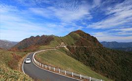 絶景ドライブルート 四国山脈の最高所を走る天空の道 高知県いの町