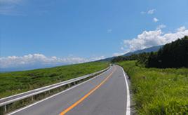 絶景ドライブルート 富士山南東麓の演習場に囲まれた国道 静岡県御殿場市