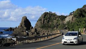 絶景ドライブルート 越前加賀国定公園内を縦断するシーサイドロード 福井県越前町