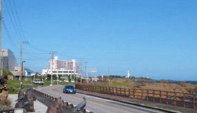 絶景ドライブルート 陽光が眩しい半島南端の海岸道路 千葉県南房総市