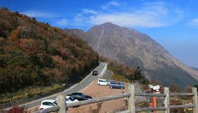 絶景ドライブルート 国立公園内の絶景山岳道路 長崎県雲仙市