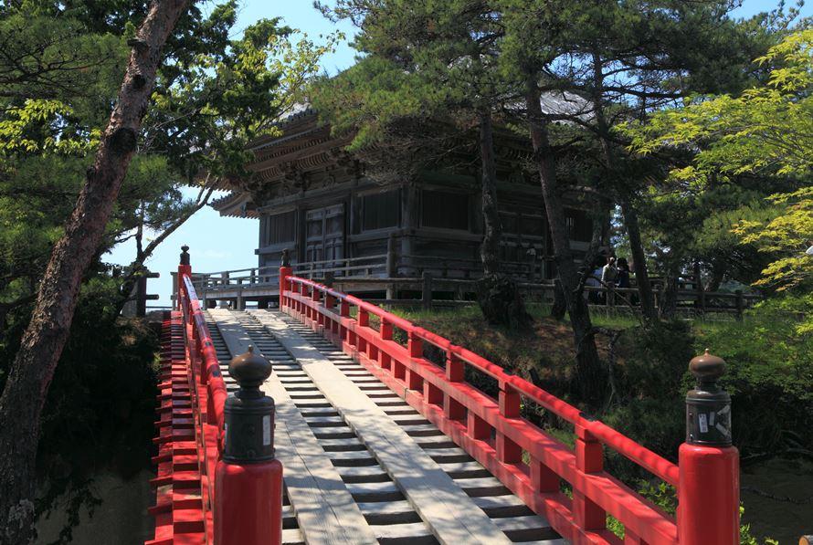 【絶景ビュースポット】松島海岸のシンボル的存在の五大堂。