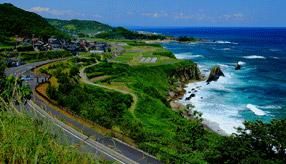絶景ドライブルート 風光明媚な丹後半島の日本海ルート 京都府京丹後市