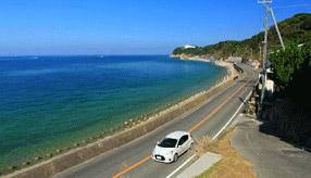 絶景ドライブルート 淡路島西海岸を走るシーサイドロード 兵庫県淡路市