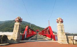 絶景ドライブルート 現役で動く日本最古の道路開閉橋 愛媛県大洲市