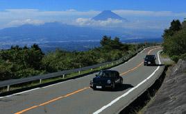 絶景ドライブルート 伊豆半島東部の山稜を走る絶景ドライブウェイ 静岡県伊豆市