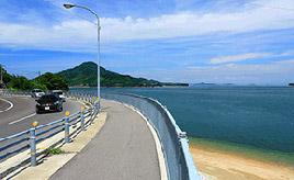絶景ドライブルート 瀬戸内海に突き出た半島を周回する県道 香川県三豊市