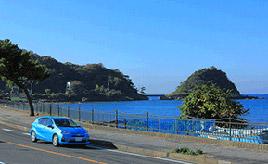 絶景ドライブルート 房総半島西海岸を走るシーサイドロード 千葉県富津市