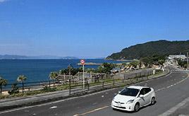 絶景ドライブルート 本土最南端、北緯31度へと続く道 鹿児島県南大隅町