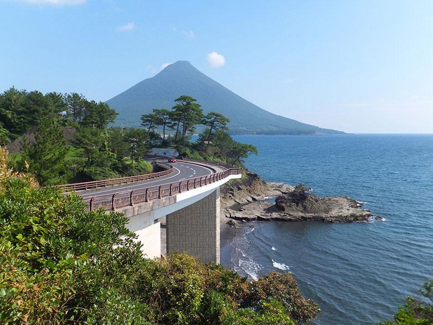 絶景ドライブルート ビューポイントが点在する薩摩半島南端の ...