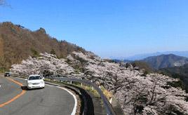 絶景ドライブルート 日本三大奇勝、妙義山を走るワインディングロード 群馬県下仁田町