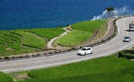 絶景ドライブルート 能登半島北部の海岸線を走る里海ロード 石川県輪島市