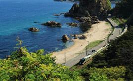 絶景ドライブルート 数々の奇岩が続くシーサイドロード 新潟県村上市