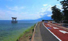 絶景ドライブルート 琵琶湖西岸の貴重なレイクサイド区間 滋賀県高島市