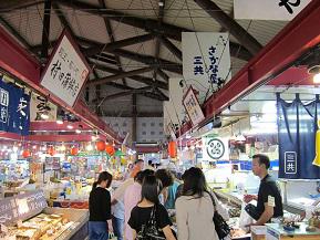 城下町散策後は萩の鮮魚で腹ごしらえ!道の駅萩しーまーとへドライブ 山口県萩市