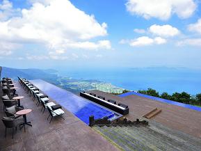 標高1100mから琵琶湖を一望!絶景スポットびわ湖テラスへドライブ 滋賀県大津市