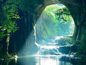 幻想的な光景に思わずため息!話題の濃溝の滝へドライブ 千葉県君津市
