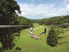 スリル満点の空中移動&アクティビティに挑戦!ターザニアへドライブ 千葉県長柄町