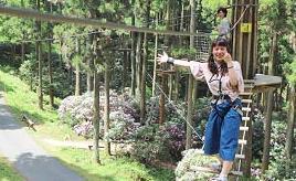 百年の森で空中散歩!フォレストアドベンチャー・糸島へドライブ 福岡県糸島市