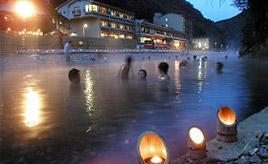 それは川か?温泉か?冬の間だけ楽しめるおもしろ露天風呂 和歌山県田辺市